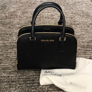 Michael Kors Saffiano Satchel (New without tags)